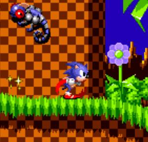 Sonic e sua hiper-velocidade!