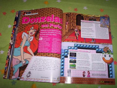 Na revista existe um artigo interessante sobre os games clichês que sempre tem donzelas em apuros!