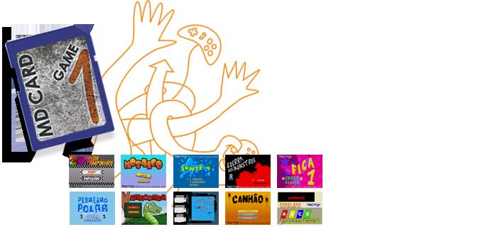"""Uau, FINALMENTE lançaram o clássico """"Pedreiro Polar"""" para o Mega Drive! Hoje deve ser o dia mais feliz da minha vida!"""