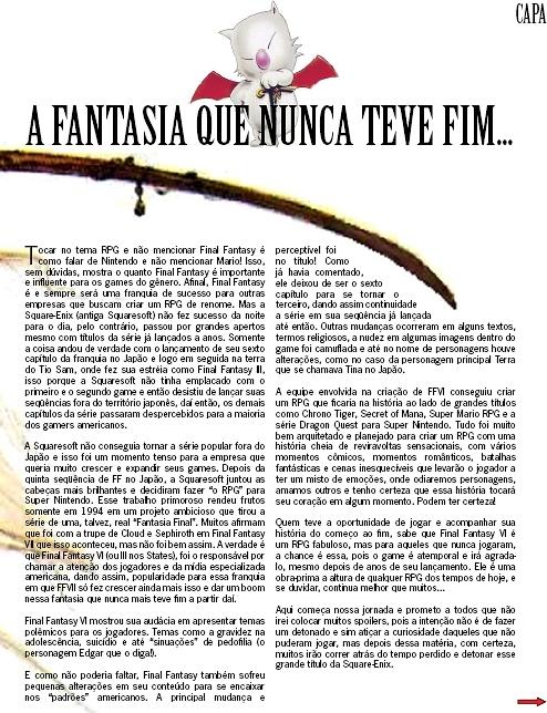 Página incial do artigo...