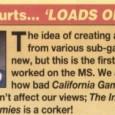 Mais um episódio da minha infame cruzada Master System, na qual eu me propus a jogar TODOS os jogos de Master System, mais ou menos em ordem alfabética. Nos últimos […]