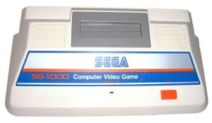 Foto do console SG-1000 da SEGA.