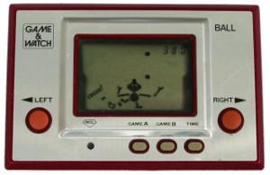 O primeiro Game & Watch.