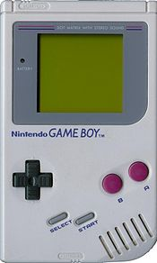 O portátil Game Boy.