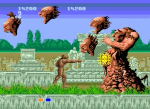 Altered Beast no Mega Drive