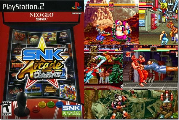 SNK arcade banner copy