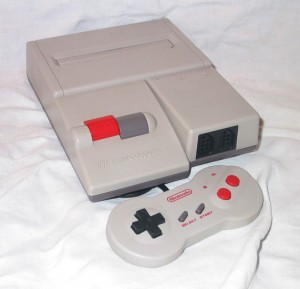 O Famicom AV, um dos consoles preferidos do colecionador Daniel.