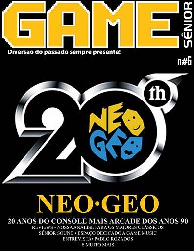 A revista digital totalmente voltada ao universo dos games clássicos, Game Sênior, tem hoje lançada sua sexta edição! Confira abaixo um pouco do que você vai encontrar na revista: – […]