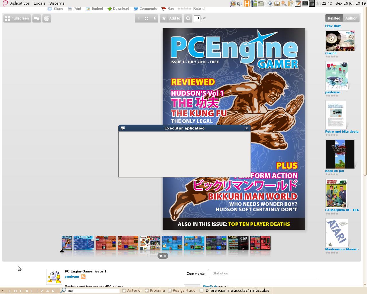 A cada diz que passa, mais e mais sites interessantes sobre o PC Engine/Turbografx16 vão sendo abandonados… felizmente, muitos ainda seguem em frente com muita disposição, e alguns até criam […]