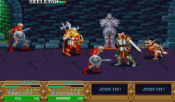 O jogo traz épicas batalhas, contra as mais terríveis criaturas!