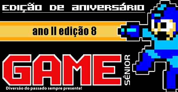 A revista digital totalmente voltada ao universo dos games clássicos, Game Sênior, tem hoje lançada sua oitava edição, que marca também o primeiro aniversário da publicação! Confira abaixo um pouco […]