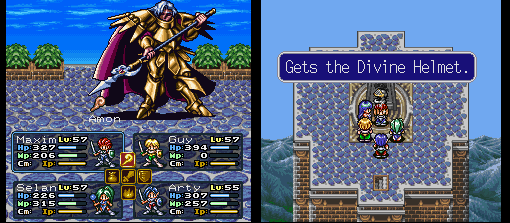 Amon, o segundo Sinistral me deixou o Divine Helmet, que se transforma em Pearl Helmet ao entrar no meu inventário