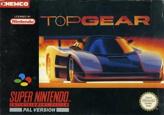 [SNES] Top Gear Box