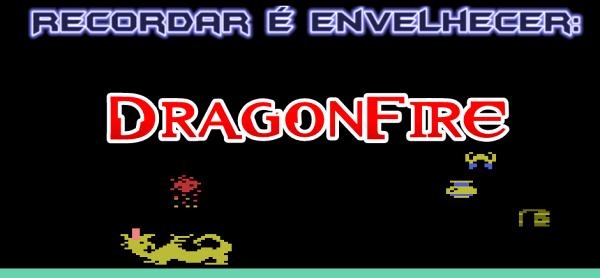 Hoje vamos voltar no tempo, como sempre, mas para o longínquo ano de 1982, quando a Imagic lançou para o Atari 2600 o título DragonFire, que apesar de ser um game bem simples, foi responsável por eu passar horas e mais horas na frente da TV quando eu era criança.