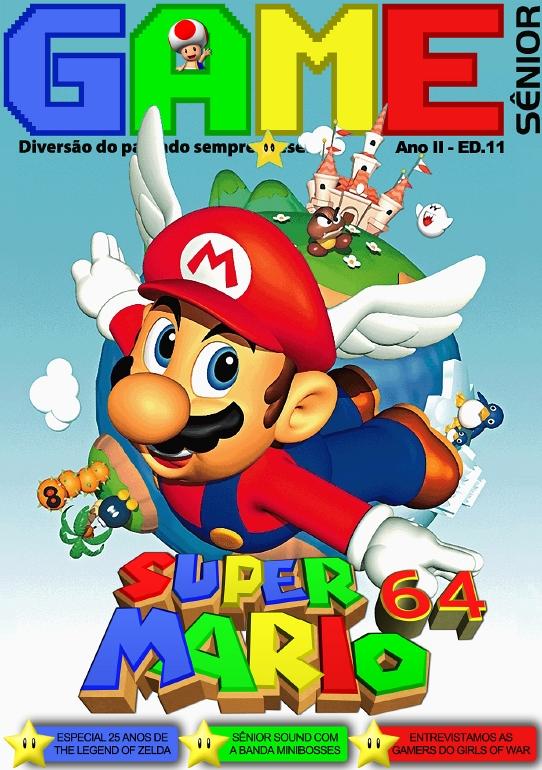 """Mesmo estando curtindo férias, tive que fazer esta """"postagem extraordinária"""" aqui no Gagá Games: foi lançada hoje a edição nº11 da revista digital dedicada aos games clássicos, Game Sênior! Confira […]"""