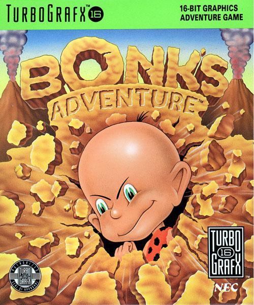 """<img class=""""alignright size-medium wp-image-28060"""" title=""""bonksadv-caixa"""" src=""""http://www.gagagames.com.br/wp-content/uploads/2011/08/bonksadv-caixa-250x300.jpg"""" alt="""""""" width=""""250"""" height=""""300"""" />Mascote da Sega? Sonic. Mascote da Nintendo? Mario. E o mascote da NEC?  Aí danou-se, metade do grupo não sabe. Aliás, metade dessa metade nem sabe que a NEC era a fabricante do <a href=""""http://www.gagagames.com.br/?tag=pc-engine"""">PC Engine</a> (lançado nos EUA como Turbografx-16), um console de 16 bits que não agitou muito as massas aqui do nosso lado do mundo, mas que fez um baita estrondo lá no Japão."""