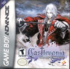 """Hoje vou relembrar um game lançado em 2002 para o Game Boy Advance, e que fez a alegria de muitos """"caçadores de vampiros"""": trata-se de Castlevania - Harmony Of Dissonance."""