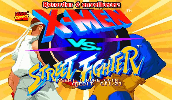 Hoje vou voltar para o ano de 1996, e relembrar o divertido X-Men VS Street Fighter, um game de luta pra (quase) ninguém botar defeito!