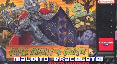 """Super Ghouls'n Ghosts foi o segundo game de SNES que joguei (o primeiro foi Final Fight). A experiência foi MA-RA-VI-LHO-SA! Antes, acostumado com o padrão Mega Drive de gráficos e efeitos visuais, fiquei boquiaberto com a paleta de cores e os """"inéditos"""" zoom e rotação que a Capcom implementou com maestria neste título."""