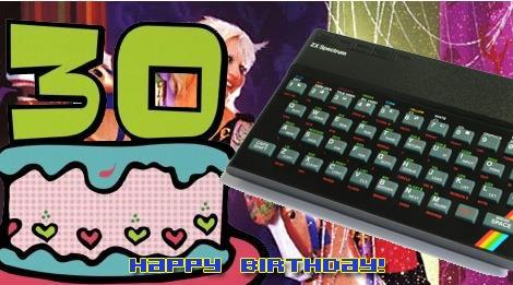 Como dita a cartilha do retro gamer fiel, não poderíamos deixar passar em branco uma data tão importante quanto essa: o trigésimo aniversário do ZX Spectrum; famoso aqui no Brasil pelo pseudônimo de TK-90X ou TK-95, que diferenciava-se do 90 por ser equipado com um teclado semi profissional.