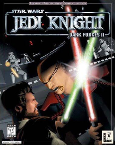 """Bom dia, amigos leitores do Gagá Games! Hoje damos um pequeno salto e aportamos no fim dos anos 90, analisando um FPS que passou batido por muitos – ofuscado por grandes títulos como Quake e Unreal, mas nem por isso menos importante. Estamos falando de """"Jedi Knight"""", da Lucasarts."""