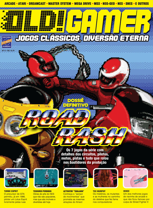 Holy shit, eu adoro Road Rash!