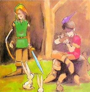 Eu tive a oportunidade de jogar e zerar os dois primeiros Zeldas de NES entre 1990 e 1991, na casa de um amigo. Depois disso, acho que levou quase um ano para que esse amigo comprasse seu Super Nintendo com uma cópia de A Link to the Past