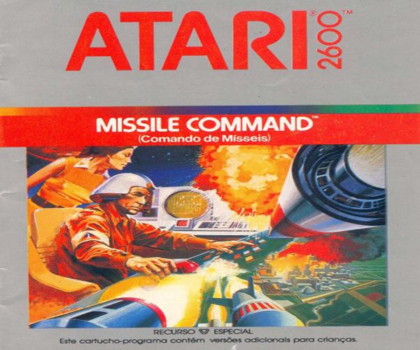 Hoje falarei sobre Missile Command do Atari 2600, por que antes de mais nada, foi o meu primeiro contato com qualquer videogame.