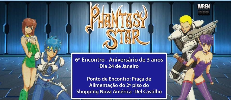 6º Encontro do Grupo Phantasy Star Brasil