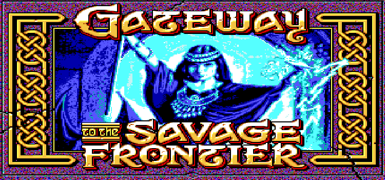 GOGó Games: Gateway to the Savage Frontier (DOS)