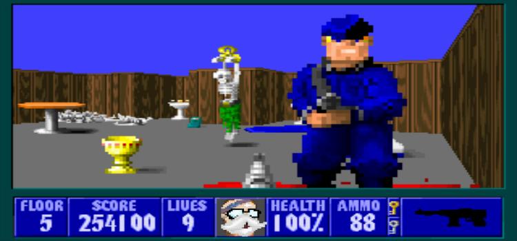 Wolfenstein 3D: é, eu fiz outro post